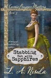 Cassie Pengear Stabbing Set with Sapphires