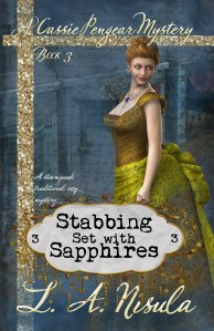 Cassie Pengear Stabbing Set with Sapphires